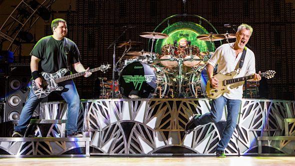 Wolfgang and Eddie Van Halen Grammy tribute