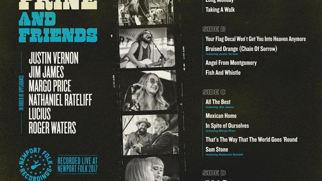 john prine and friends 2017 newport folk festival live album vinyl back cover