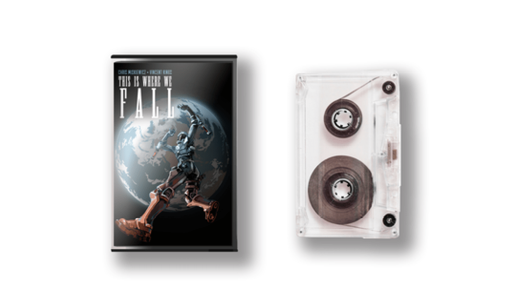 this is where we fall artwork cassette