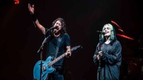"""Dave and Violet Grohl Share Cover of X's """"Nausea"""""""