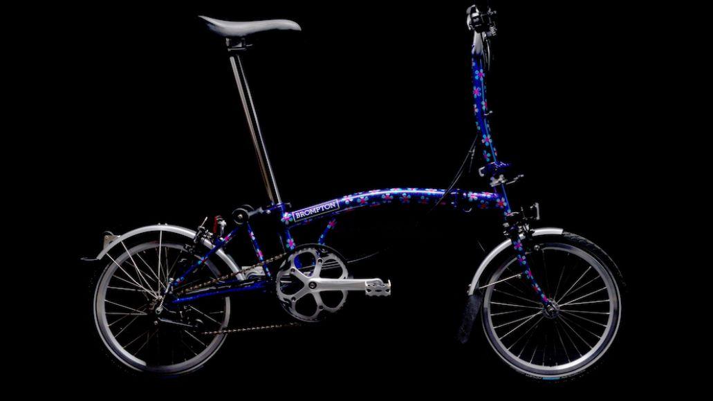 Dinosaur Jr Brompton bike