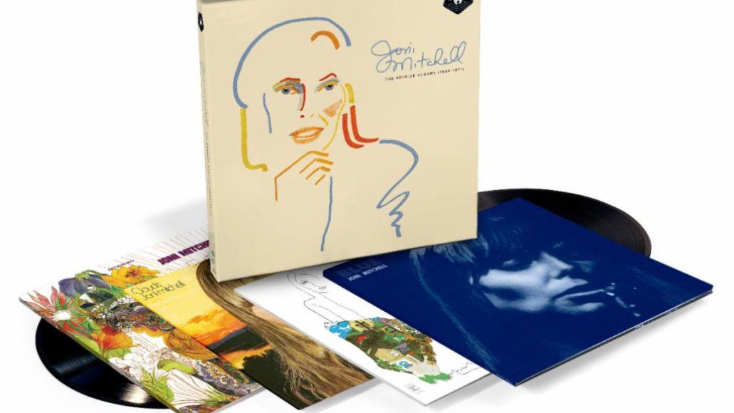 The Reprise Albums (1968-1971) by Joni Mitchell box set album artwork cover art