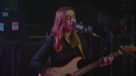 Julien Baker on the Late Late Show (CBS)