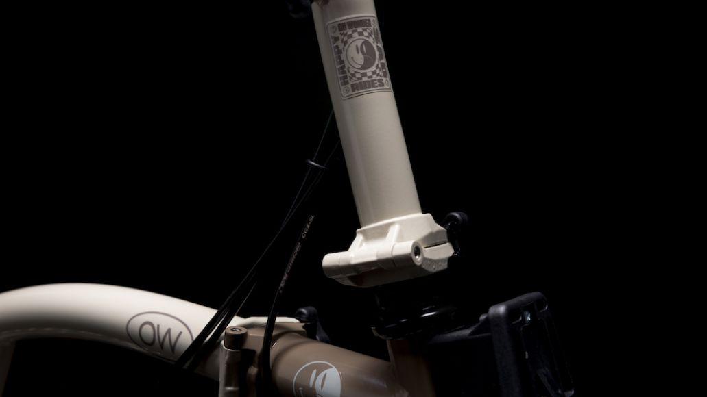 Oh Wonder Brompton bike