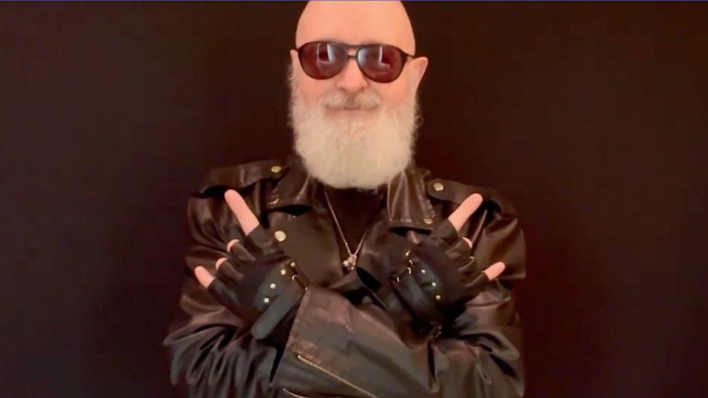 Judas Priest's Rob Halford urges vaccinations
