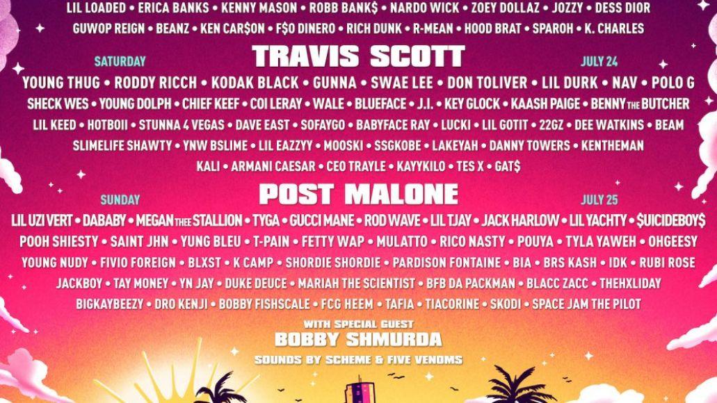Rolling Loud Miami 2021 lineup