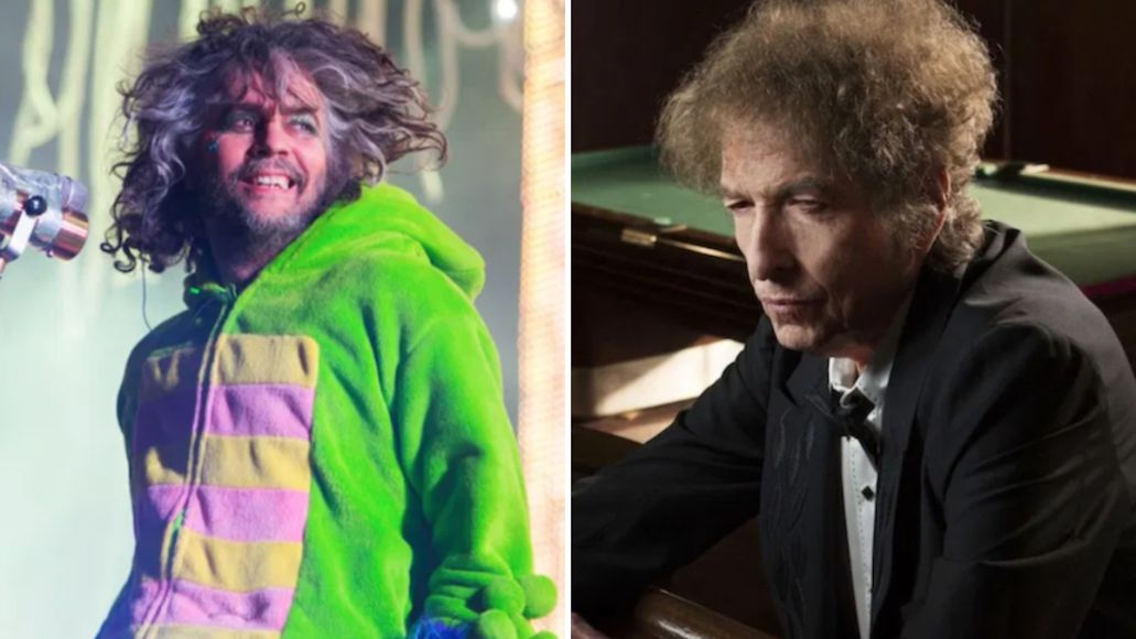 the flaming lips bob dylan revisited lay lady lay cover song stream