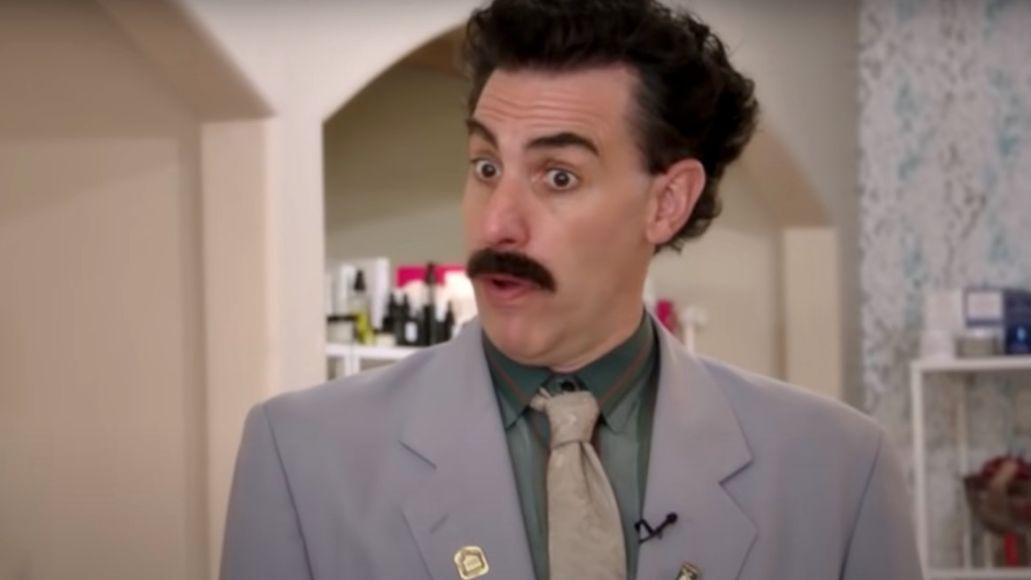 Borat 2 unreleased footage