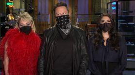 Elon Musk and Miley Cyrus SNL