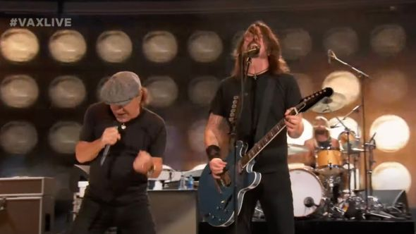 Foo Fighters with Brian Johnson