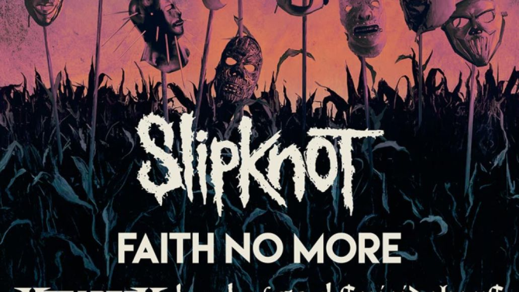 Knotfest Iowa 2021 Poster Knotfest Iowa 2021 Lineup: Slipknot, Faith No More, Megadeth, Lamb of God, Gojira, and More