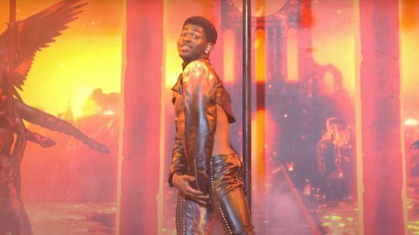 Lil Nas X on SNL wardrobe malfunction