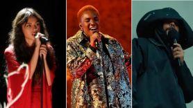 Olivia Rodrigo, Arlo Parks, and The Weeknd at 2021 BRIT Awards