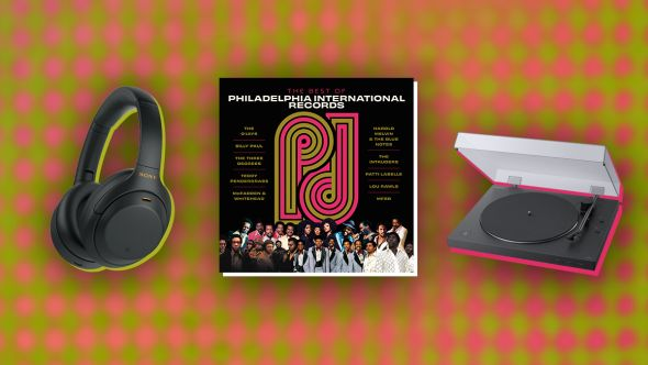 Win The Best of Philadelphia International Records vinyl prize pack with Sony turntable and headphones giveaway