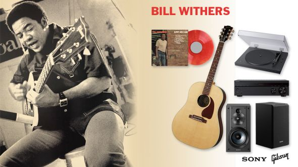 bill withers just as i am vinyl giveaway WIN PRIze pack gibson guitar sony sound system