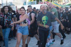 Punk in the Park Arizona Crowd