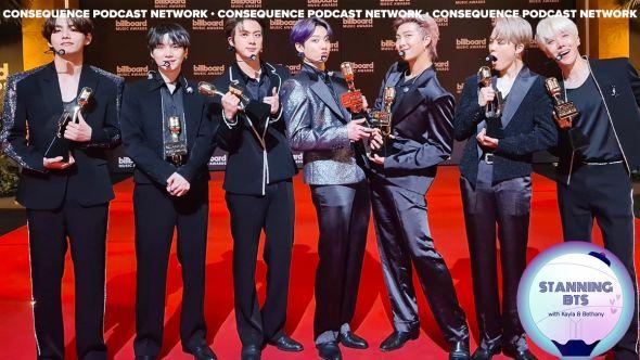 stanning bts podcast butter billboard music awards