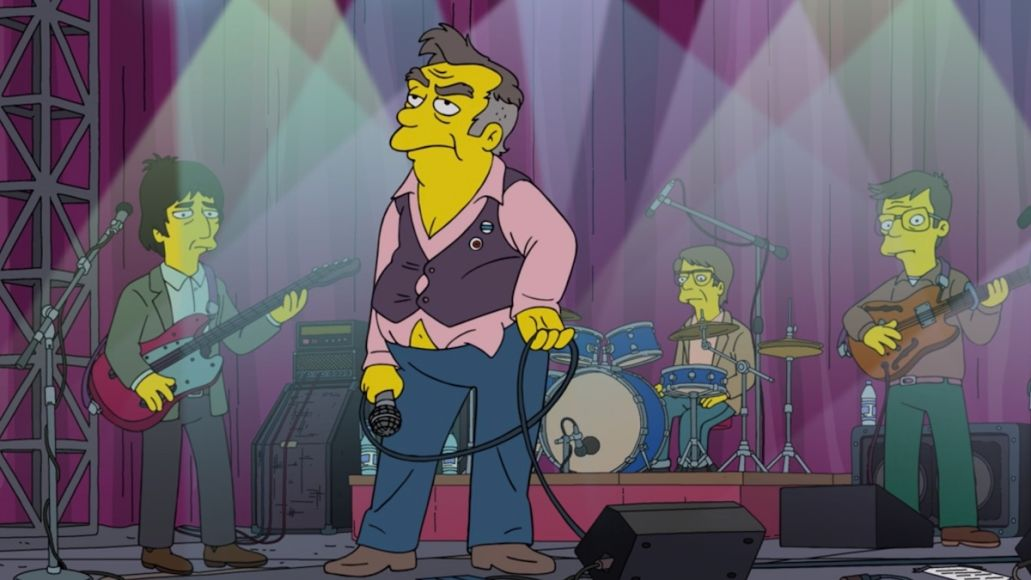 the simpsons morrissey parody everyone is horrid except me and possibly you