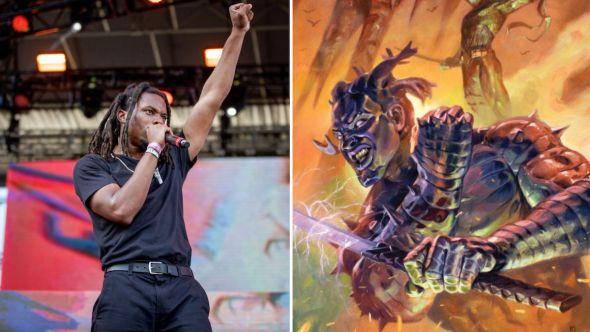 denzel curry bad luck batman darkseid dc comics dark nights death metal soundtrack