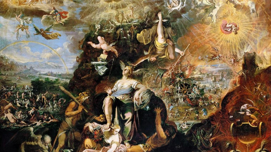 the felice brothers jazz on the autobahn origins Joesph Heintz the Younger's painting entitled Allegory of the Apocalypse